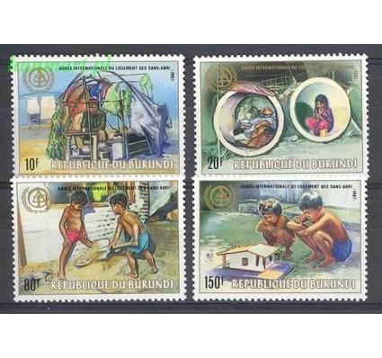 Burundi 1988 Mi 1693-1696 Czyste **