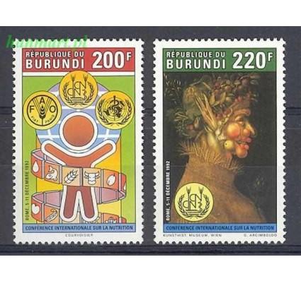 Burundi 1992 Mi 1764-1765 Czyste **