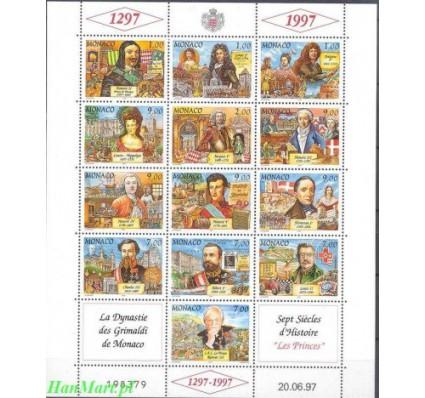 Znaczek Monako 1997 Mi ark 2363-2375 Czyste **