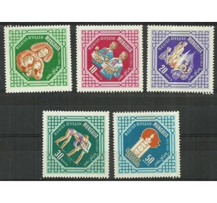 Znaczek Mongolia 1965 Mi 393-397 Czyste **