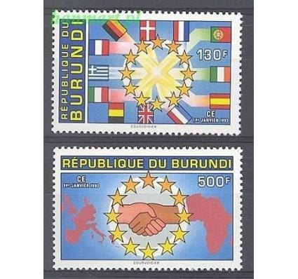 Burundi 1993 Mi 1772-1773 Czyste **