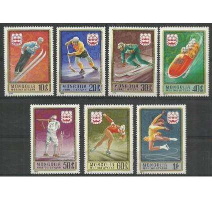 Znaczek Mongolia 1975 Mi 975-981 Czyste **
