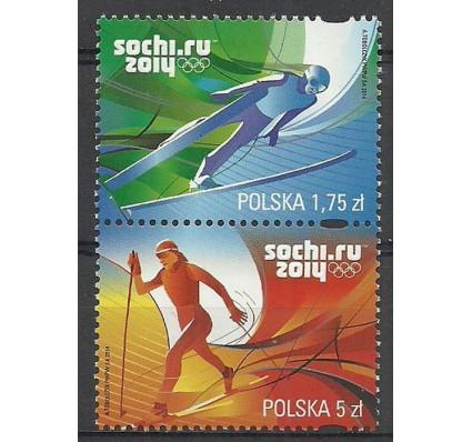 Znaczek Polska 2014 Mi 4658-4659 Fi 4508-4509 Czyste **