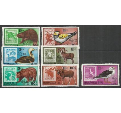 Znaczek Mongolia 1978 Mi 1157-1163 Czyste **