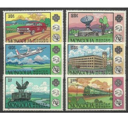 Znaczek Mongolia 1984 Mi 1608-1613 Czyste **