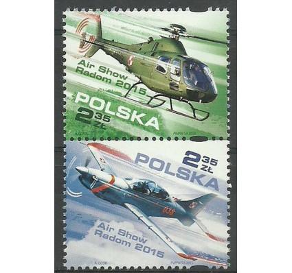 Znaczek Polska 2015 Mi 4781-4782 Fi 4631-4632 Czyste **