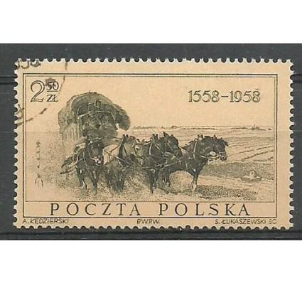 Znaczek Polska 1958 Mi 1072 Fi 927 Stemplowane