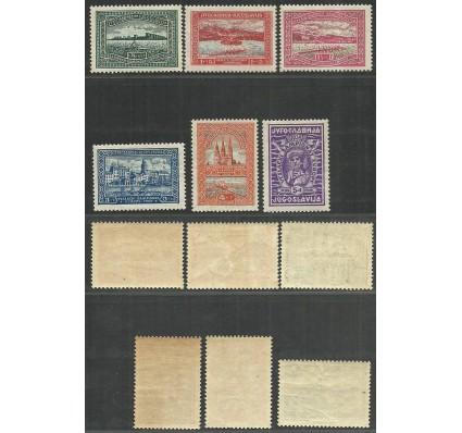 Znaczek Jugosławia 1932 Mi 243-248 Czyste **