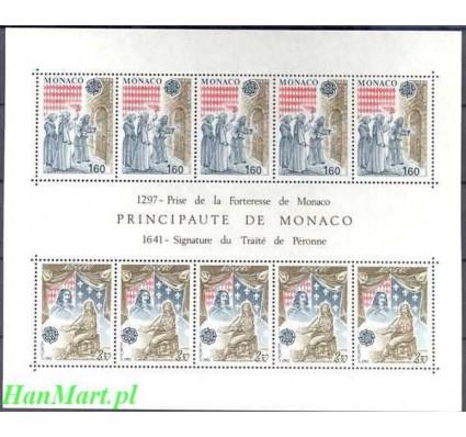 Monako 1982 Mi bl 19 Czyste **