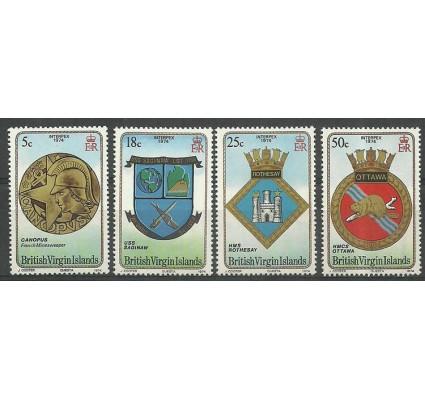 Znaczek Wyspy Dziewicze 1974 Mi 262-265 Czyste **