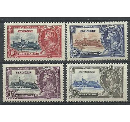 Znaczek St. Vincent 1935 Mi 112-115 Czyste **