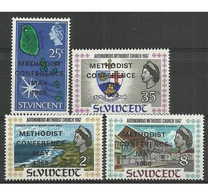 Znaczek St. Vincent 1969 Mi 247-250 Czyste **