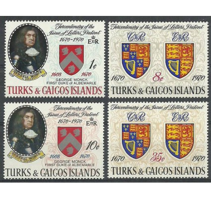 Znaczek Turks i Caicos 1970 Mi 255-258 Czyste **