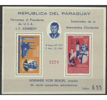 Znaczek Paragwaj 1964 Mi bl 61 Czyste **