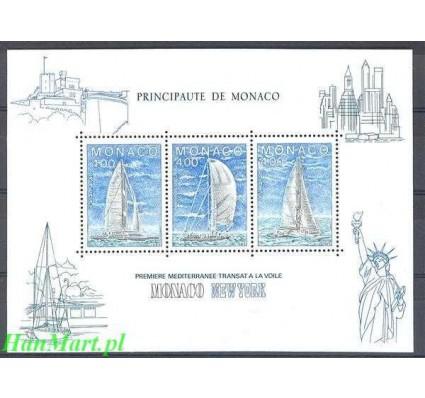 Monako 1985 Mi bl 30 Czyste **