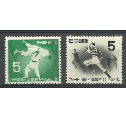 Znaczek Japonia 1953 Mi 623-624 Czyste **