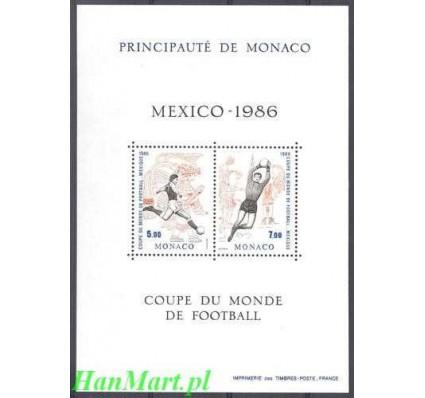 Monako 1986 Mi bl 33 Czyste **