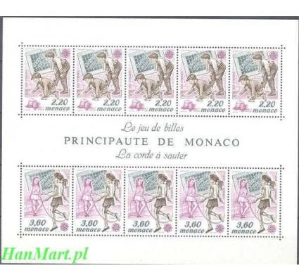 Monako 1989 Mi bl 44 Czyste **