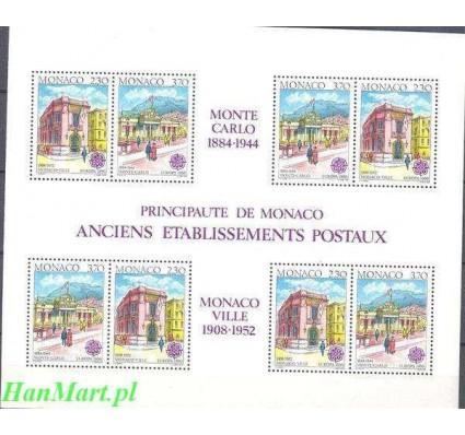 Monako 1990 Mi bl 47 Czyste **