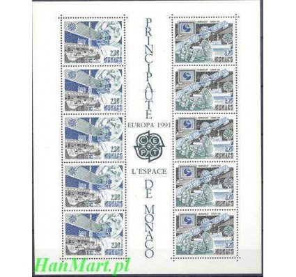 Monako 1991 Mi bl 50 Czyste **