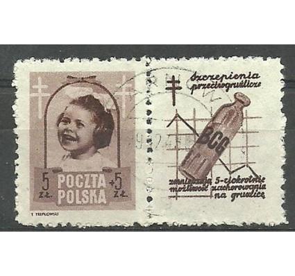 Znaczek Polska 1948 Mi zf 512 Fi zf 486 Stemplowane