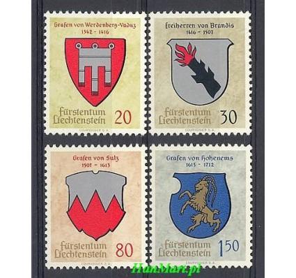 Znaczek Liechtenstein 1964 Mi 440-443 Czyste **
