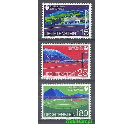 Znaczek Liechtenstein 1982 Mi 799-801 Czyste **