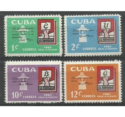 Znaczek Kuba 1961 Mi 727-730 Czyste **