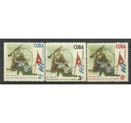 Znaczek Kuba 1962 Mi 760-762 Czyste **