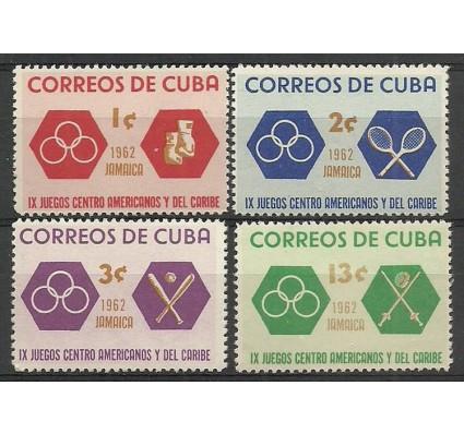 Znaczek Kuba 1962 Mi 807-810 Czyste **