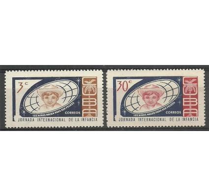 Znaczek Kuba 1963 Mi 847-848 Czyste **