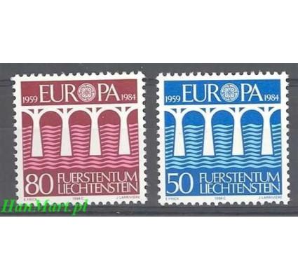 Liechtenstein 1984 Mi 837-838 Czyste **