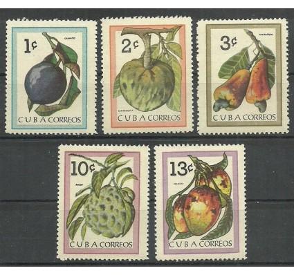Znaczek Kuba 1963 Mi 859-863 Czyste **