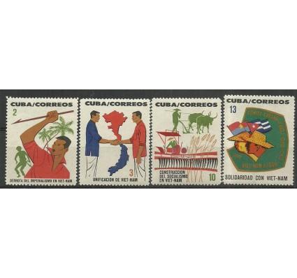 Znaczek Kuba 1964 Mi 904-907 Czyste **
