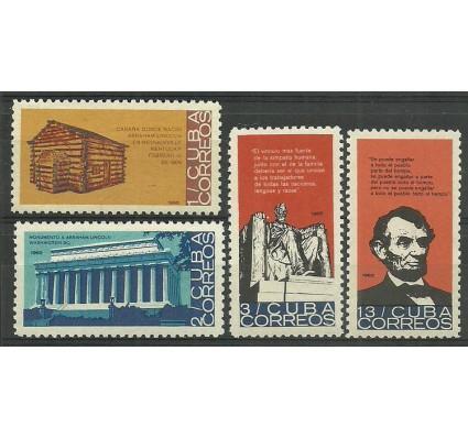 Znaczek Kuba 1965 Mi 1014-1017 Czyste **
