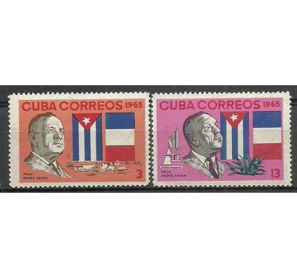 Znaczek Kuba 1965 Mi 1110-1111 Czyste **