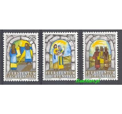 Liechtenstein 1984 Mi 861-863 Czyste **