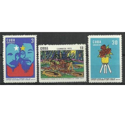 Znaczek Kuba 1972 Mi 1770-1772 Czyste **
