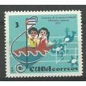 Kuba 1972 Mi 1780 Czyste **
