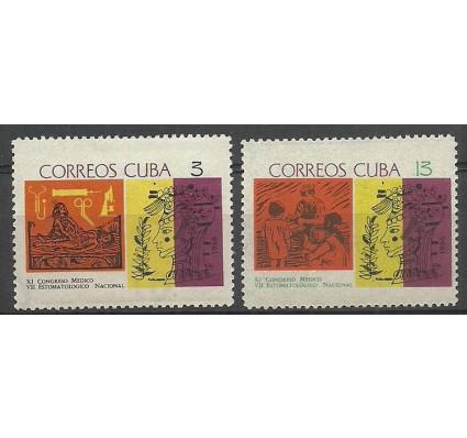 Znaczek Kuba 1966 Mi 1140-1141 Czyste **