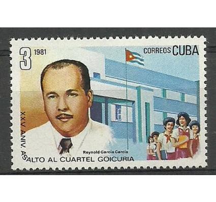 Znaczek Kuba 1981 Mi 2558 Czyste **