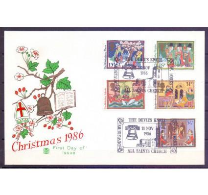 Znaczek Wielka Brytania 1986 Mi 1091-1095 FDC