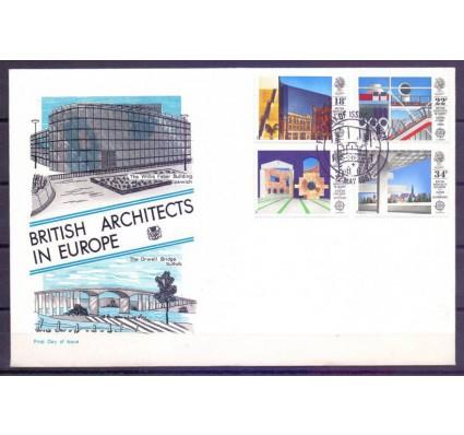 Znaczek Wielka Brytania 1987 Mi 1105-1108 FDC