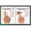 Kanada 1979 Mi 724-725 Czyste **