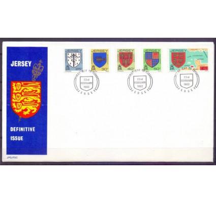 Znaczek Jersey 1982 Mi 273-277A FDC