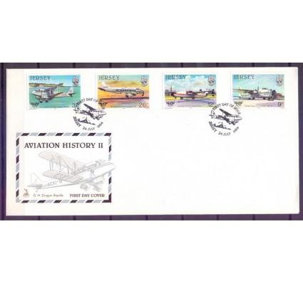Znaczek Jersey 1984 Mi 330-333 FDC