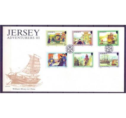 Znaczek Jersey 1992 Mi 568-573 FDC
