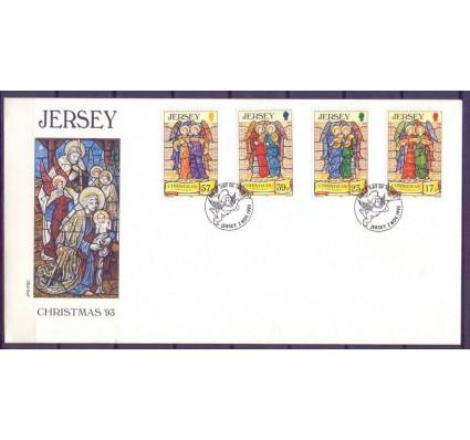 Znaczek Jersey 1993 Mi 635-638 FDC