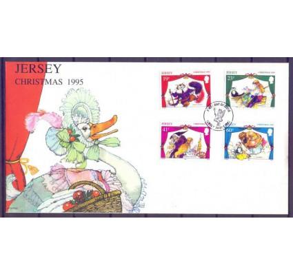 Znaczek Jersey 1995 Mi 723-726 FDC
