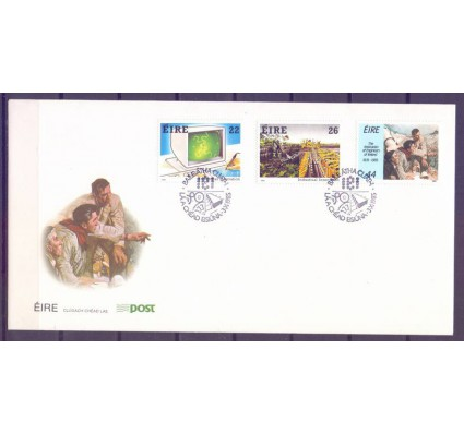 Znaczek Irlandia 1985 Mi 577-579 FDC
